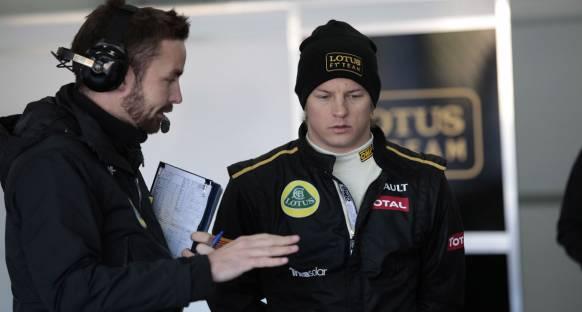 'F1 Kimi ile daha güzel olacak'