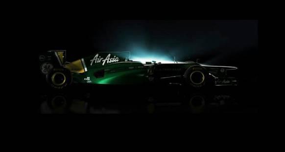 2012'nin ilk F1 aracı - Caterham CT01