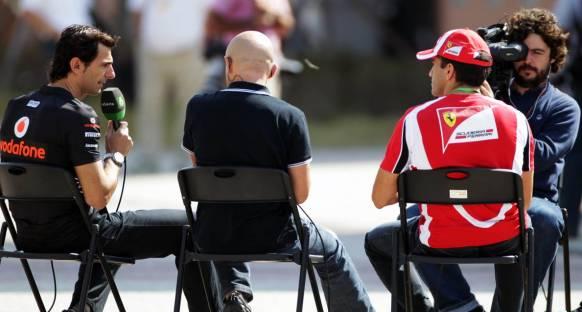 De la Rosa: F1 Kimi ile daha güzel