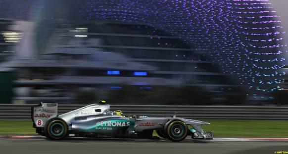 Rosberg: Önden kayma olmasa Massa'yı geçebilirdim