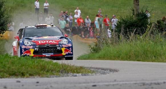 Loeb, İspanya Rallisini kazanarak şampiyonluğa göz kırptı