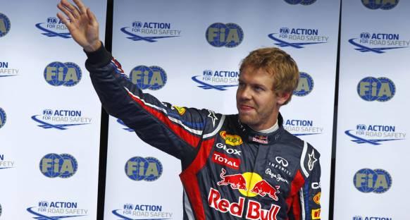 Vettel: Hala alınacak 1 puan var