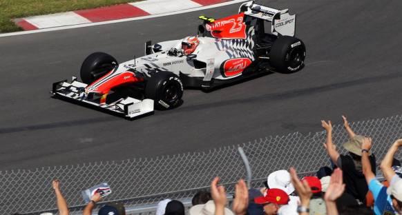 Liuzzi: Team Lotus'u yenmek mükemmel olur