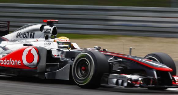 Hamilton: Sıralama hızı sürpriz oldu