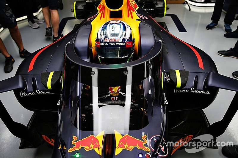 Red Bull опробует в Сочи систему защиты кокпита