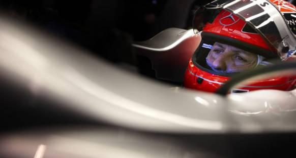 Schumacher Çin'e yüksek hedeflerle gidiyor