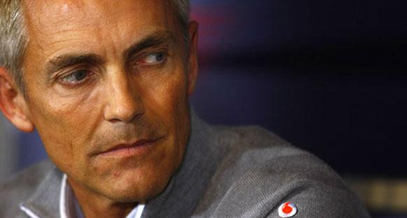 McLaren'in hızı Whitmarsh'ı rahatlattı