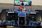 Schumacher WO2'nin gelişiminden memnun