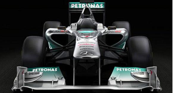 Mercedes, W02'nin ilk resmini yayınladı