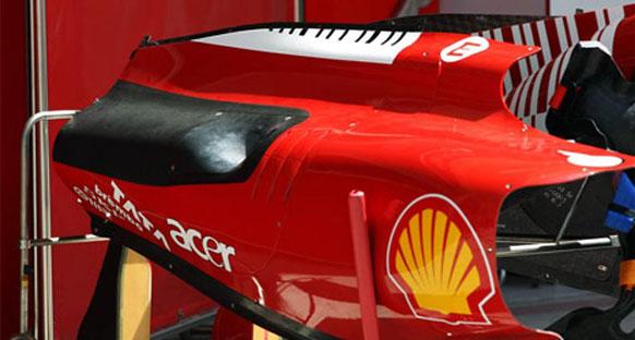 2011 Ferrari şasisi kaza testinden geçti