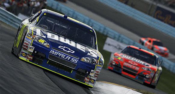 NASCAR - Jimmie Johnson 5. kez şampiyon