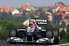 Schumacher'in sıkıntısı ön lastiklerde