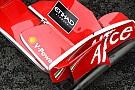 Ferrari ön kanat konusunda kararsız