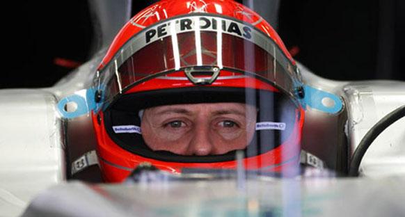 Schumacher için test yasağı bir paradoks