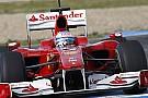 Alonso güncelleştirilmiş F10'u test etti