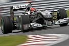 Mercedes GP sıralama raporu
