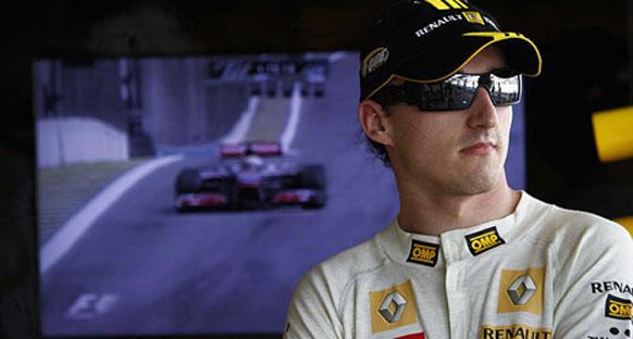 Kubica'nın hızı Renault'yu şaşırttı