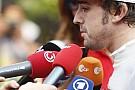 Alonso: 'Ferrari'nin lastik seçimi doğru'