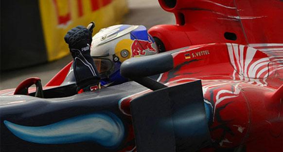 Vettel: 'Belki iki sıra önde bitirebilirdim'