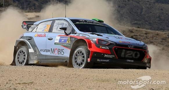 Arjantin WRC: Paddon'ın ilk galibiyetine iki etap kaldı
