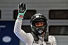 Nefes kesen yarışta Rosberg rahat kazandı