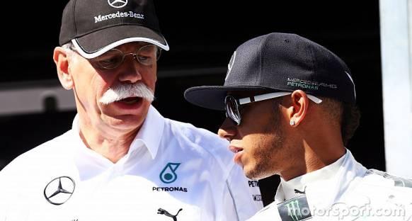 Mercedes Ecclestone'nun eleştirilerine oldukça kızgın
