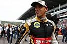 Maldonado 2016'da gridde olamayacağını doğruladı