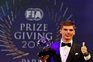 FIA ödülleri dağıtıldı, yılın aksiyonu ödülü Verstappen'in oldu