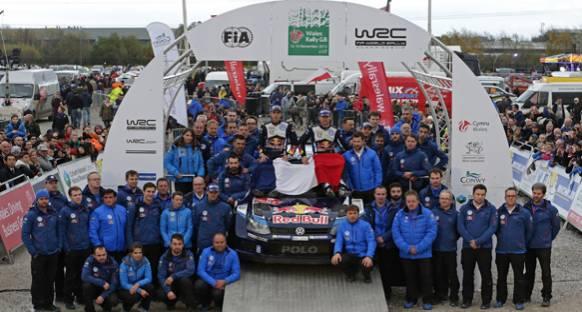 WRC: Britanya'da Ogier kazandı