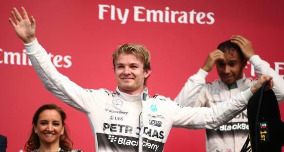 Meksika'da Rosberg Hamilton'a geçilmedi