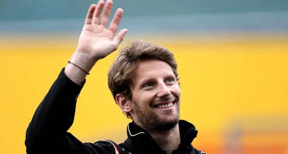 Ve Grosjean 2016'da Haas F1'de
