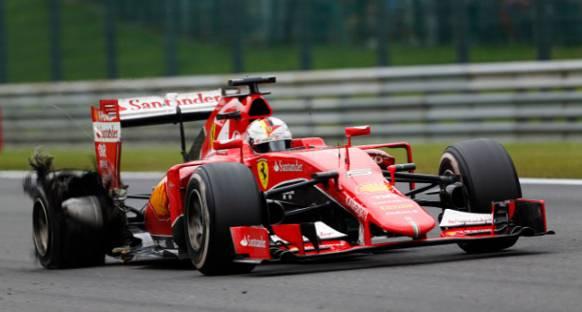 Vettel isyan etti: Pirelli ile yaşananlar kabul edilemez