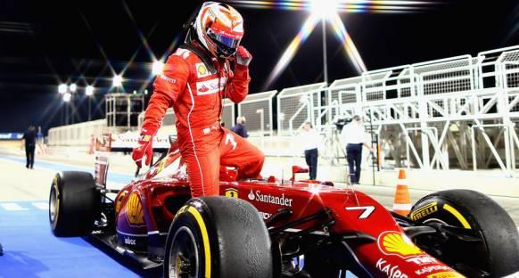 Ferrari 2016'da da Raikkonen ile Devam Dedi