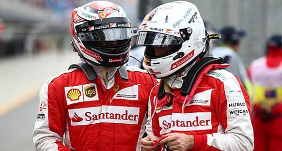 Vettel: Raikkonen eskiden neyse hala öyle