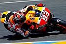 Fransa'da pole pozisyonu Marquez'in