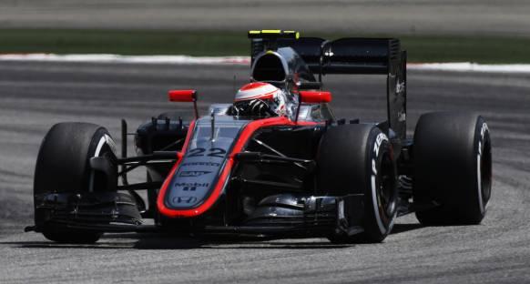Button, McLaren-Honda'nın Q1'de elenmesine şaşkın