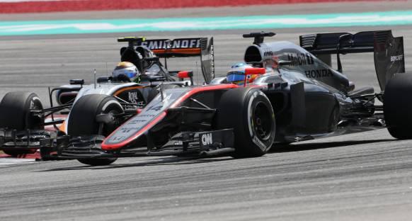 Button ve Alonso Mclaren'ın gelişimine şaşırdı