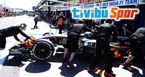 Formula 1 TivibuSpor'da