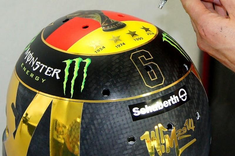 Росбергу хотят запретить раскраску шлема
