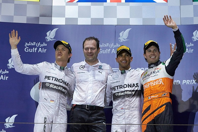 Гран При Бахрейна: гонка