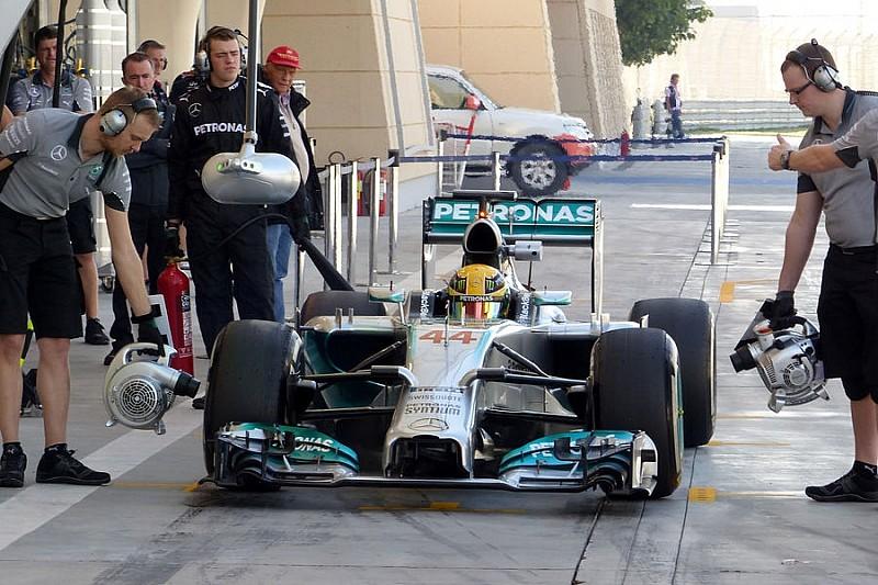 Третий день тестов в Бахрейне