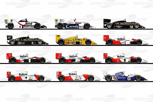 1984-1994: De F1-bolides van Ayrton Senna