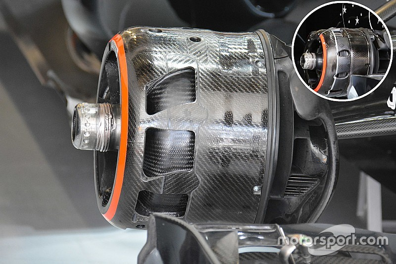 技术短文:迈凯伦MP4-31刹车散热管调整