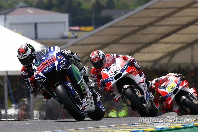 Ascolti record su Sky e TV8 per la doppietta Yamaha di Le Mans