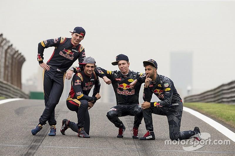 Verstappen, Kvyat en Sainz in persconferentie GP Spanje