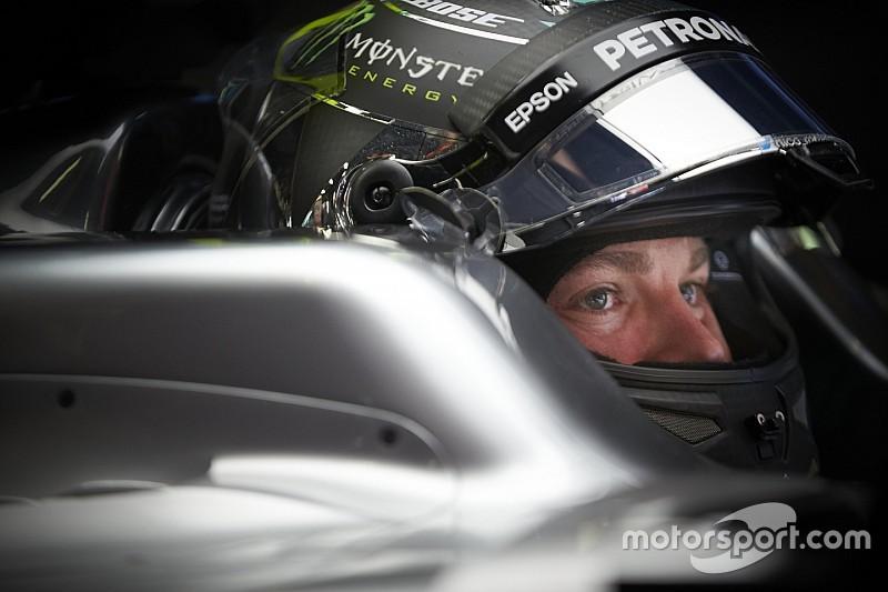 Nico Rosberg non nega di essere deluso del secondo posto
