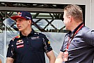 Jos Verstappen se aparta de la gestión de la carrera de Max