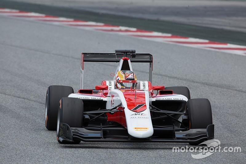 Charles Leclerc domina Gara 1 a Barcellona