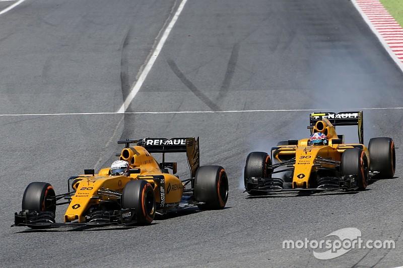 Magnussen, penalizado por un incidente con Palmer