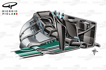 Tech analyse: Crash maskeerde potentieel van Mercedes updates